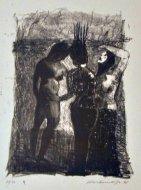 Claus Weidensdorfer, Lithografie