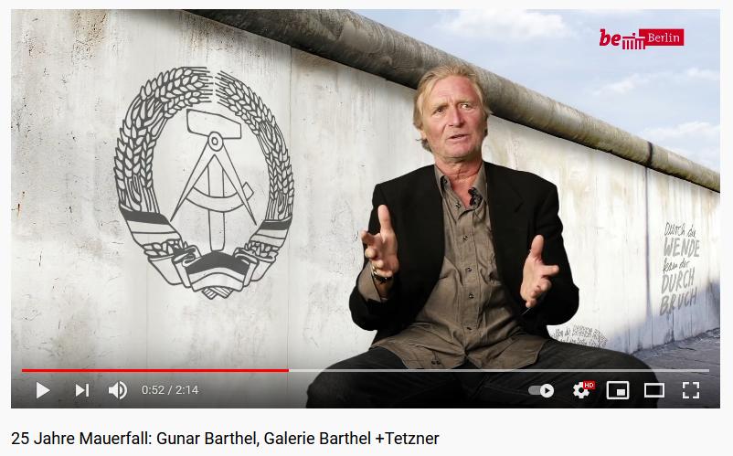 25 Jahre Mauerfall, Gunar Barthel
