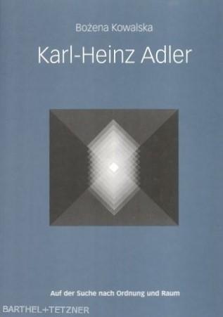 Katalog KARL-HEINZ ADLER Werkmonographie