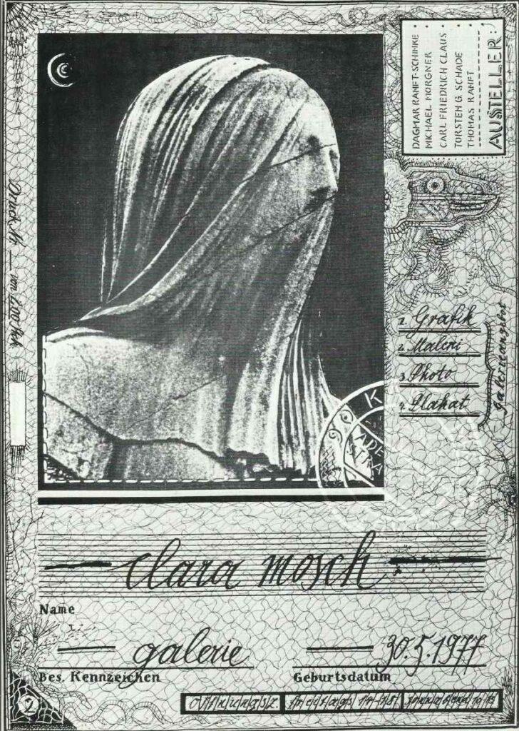 Clara Mosch nonkonforme Kunst in der DDR