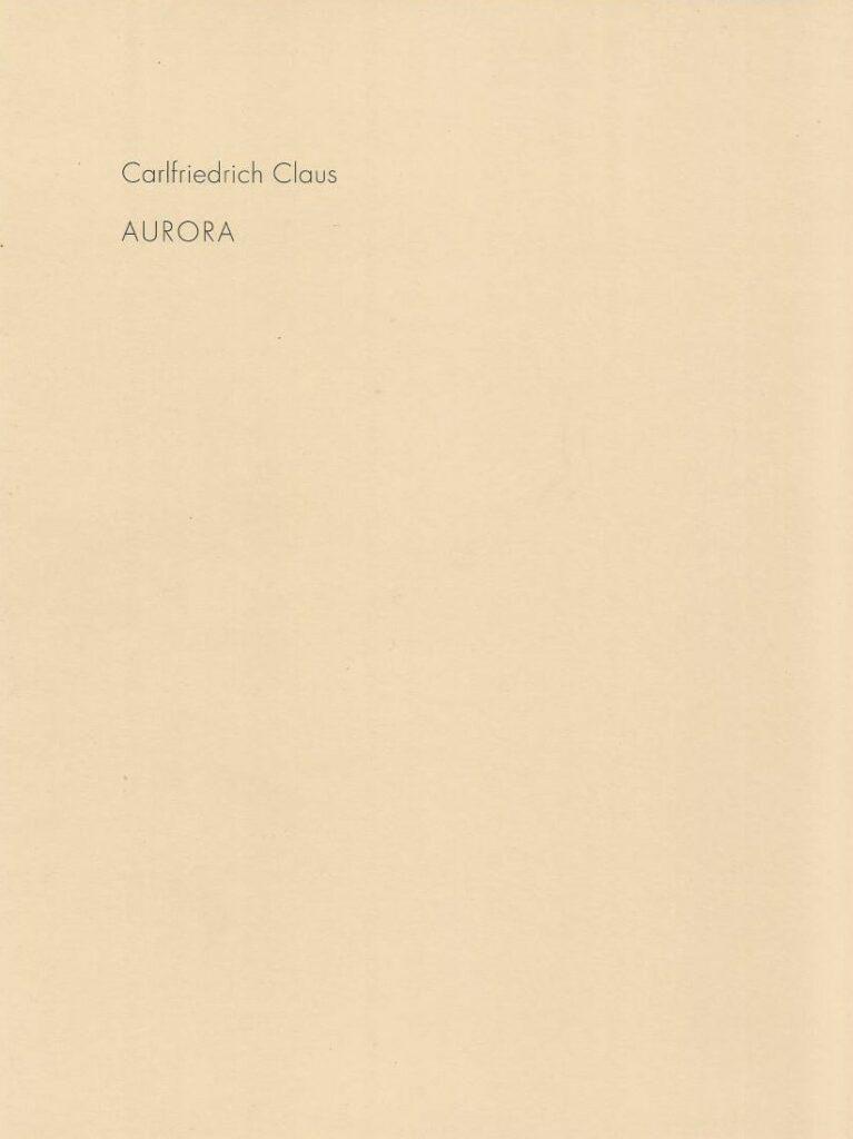 nonkonforme Kunst aus der DDR Carlffriechrich Claus