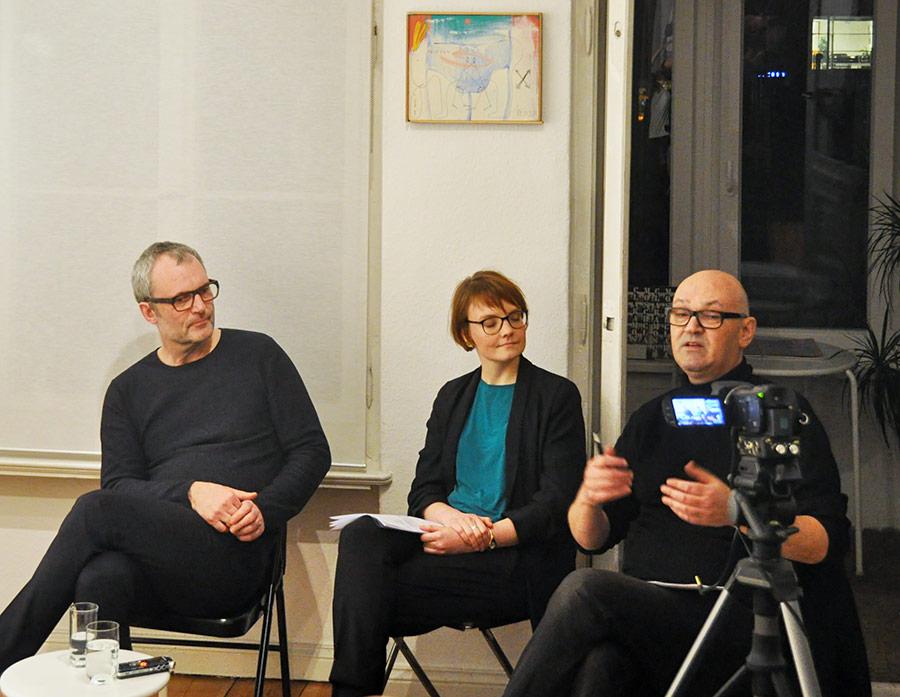 Geteilte Sicht auf die Einheit: Die Generation »DDR 2.0«, Gespräch zwischen Via Lewandowsky, Sarah Alberti, Steffen Damm