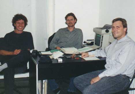 Tobias Tetzner, Gunar Barthel, Stefan Roepke