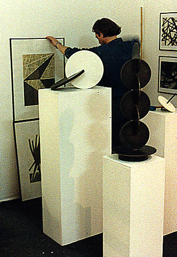 nonkonforme Kunst in der DDR Hermann Glöckner