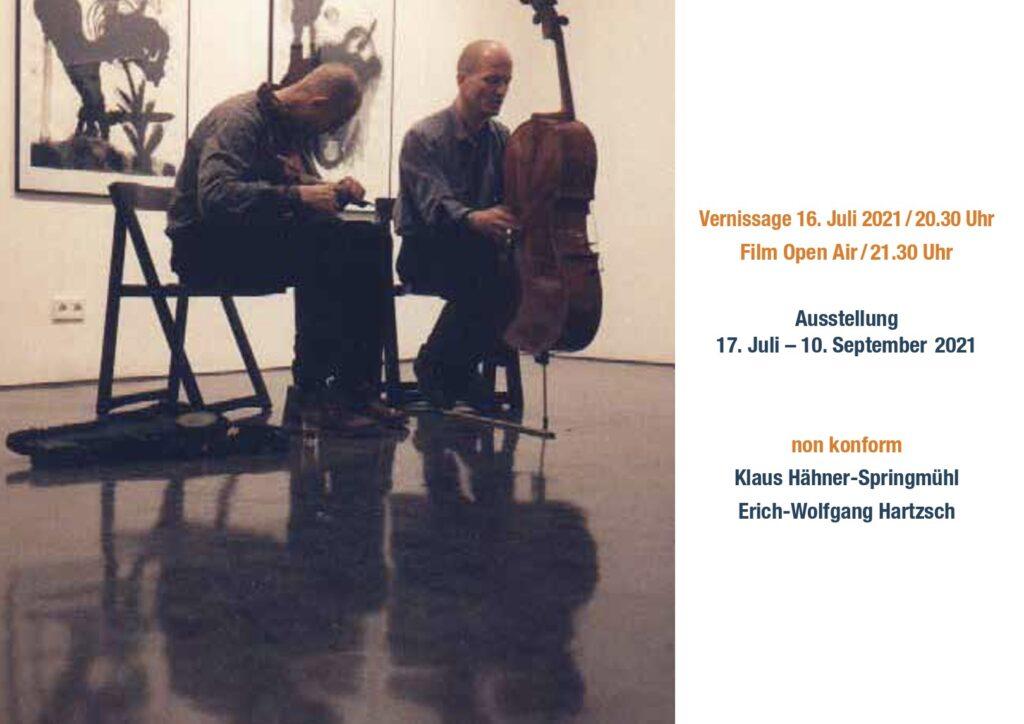 Hier abgebildet ist die Postkarte zur Veranstaltung am 16. Juli in Dresden
