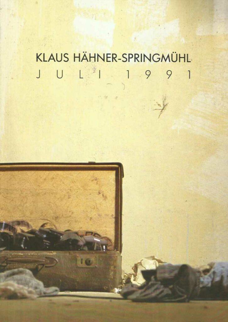 nonkonforme Kunst in der DDR Klaus Hähner-Springmühl